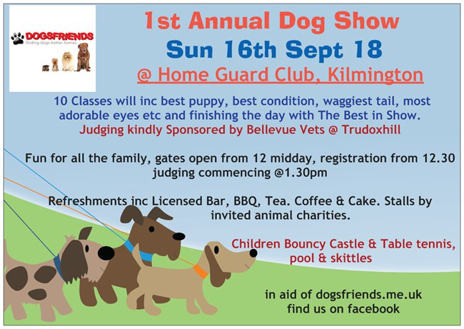 1st Annual Dog Show